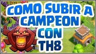 Download COMO GANAR COPAS/TROFEOS RAPIDO EN TH8 |LIGA DE CAMPEONES-CLASH OF CLANS Video
