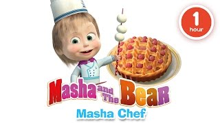 Download Masha and The Bear - Cooking and eating in the kitchen with Masha! Cartoons about food 2016 Video
