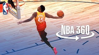 Download NBA 360 | Donovan Mitchell Wins 2018 Verizon Slam Dunk Video