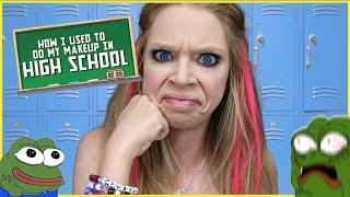 Download HOW I DID MY MAKEUP IN HIGH SCHOOL | GRAV3YARDGIRL Video