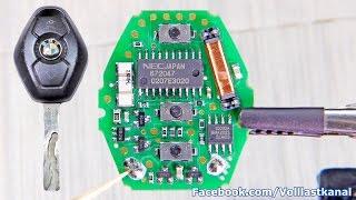 Download BMW SCHLÜSSEL REPARIEREN - Batterie wechseln / BMW Diamond Key Fob Battery Replacement E46 E39 E60 Video