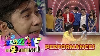 Download It's Showtime Magpasikat 2018: Team Jugs and Teddy's live father and son show of love Video