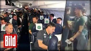 Download Brasilianisches Fußball-Team stürzt mit Flugzeug ab - Crash über Kolumbien (Chapecoense) Video