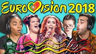Download ADULTS REACT TO EUROVISION SONG CONTEST 2018 Video