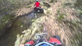 Download Trx450r fast trail riding Video