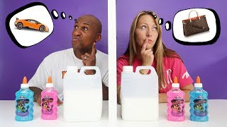 Download TWIN TELEPATHY SLIME CHALLENGE!! Parents Edition Video