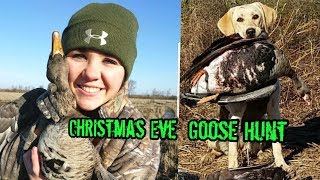 Download Christmas Eve Goose Hunting / Hammering Specklebellies HD Video