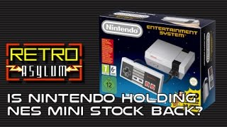 Download Is Nintendo holding back stock of the Classic NES Mini? Video