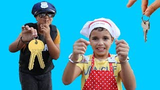 Download Kids Pretend Play Police Officer and the cook,funny videos for kids Video