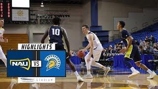 Download Northern Arizona vs. San Jose State Basketball Highlights (2018-19) | Stadium Video
