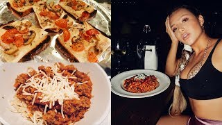 Download COOKING WITH NATHALIE PARIS: Vegan, Gluten Free Spaghetti Bolognese + Bruschettas! Video