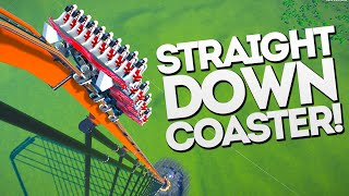 Download STRAIGHT DOWN MEGA SPEED!! Planet Coaster Gameplay Video