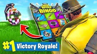 Download FORTNITE BINGO *NEW* Custom Gamemode In Fortnite Battle Royale Video