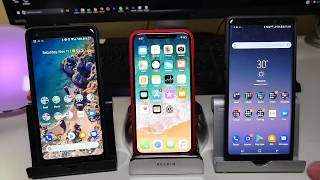 Download Best Smartphone Display iPhone X vs Galay Note 8 vs Pixel 2 XL Video