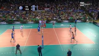 Download [Volleyball] Ivan Zaytsev of Italy kills USA with 4 aces in a row #quattrolavatrici Video