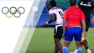 Download Fiji bounces back to beat New Zealand in Rugby Sevens quarterfinals Video