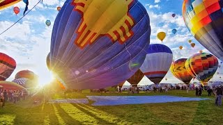 Download The World's Largest Hot Air Balloon Fiesta- In 4K Video