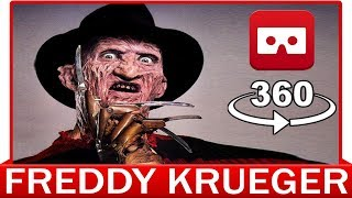 Download 360° VR VIDEO - NIGHTMARE on Elm Street - Freddy Krueger | First Person | Friday The 13Th Video