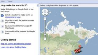 Download Google Building Maker Video