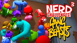 Download Nerd³ Challenges! Royal Rumble! - Gang Beasts Video