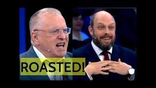 Download EPIC: Enraged Zhirinovsky Roasts English Journo Owen Matthews Video