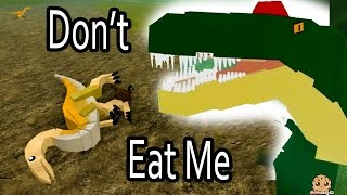 Download Don't Eat Me!! I'm A Baby Dino - Roblox Dinosaur Simulator Online Game Let's Play Video