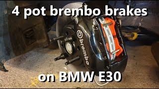 Download BMW e30 m52 turbon talvihuoltoa. S03E04 Jarrut valmiiksi Video