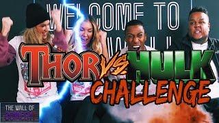 Download Thor vs Hulk Challenge! Video