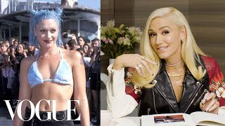 Download Gwen Stefani Breaks Down 6 Looks From 1995 to Now | Life in Looks | Vogue Video