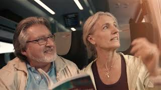 Download Travelling on the ÖBB Railjet Video