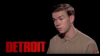 Download Will Poulter On Difficulty Of Playing An Evil Racist In DETROIT Video