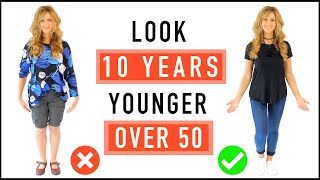 Download Look 10 Years Younger | CASUAL OUTFIT Ideas And Style Tips For Mature Women Over 50! Video