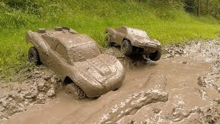 Download Traxxas Slash 4x4s KillerBodyRC Mud Bogging! Video