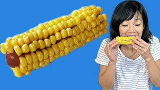Download How to Make Jenna's Corn on the Cob But Instead of a The CORN BONE It's A HOT DOG | Weenies Video