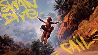 Download Swan Dive Fail - Horizon Zero Dawn Video