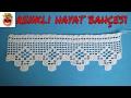 Download Dantel Havlu Kenarı ve Yastık Kenarı Modeli - Anlatımlı Yapılışı - Örgü Dantel Oya El İşi Video