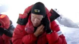 Download First 3G call from summit of Mount Everest 6th May 2011 Video