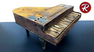 Download Barn Find Toy Piano Restoration Video