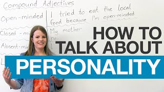 Download Learn English Vocabulary: Compound Adjectives to describe people Video