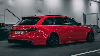 Download The Red Devil   Adrian`s bagged Audi RS6   4K Video