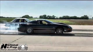 Download White Trash vs Turbo Camaro in Kansas small tire shootout at the equalizer Video