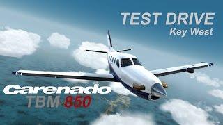 Download Test Drive | Carenado TBM 850 | Prepar3D V3 | 4k Video
