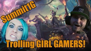 Download Summit1G Trolls GIRL GAMERS on Sea of Thieves | Hilarious | Twitch Clip Video
