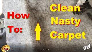 Download AMAZING Way To SUPER CLEAN The NASTIEST Carpet ! Video