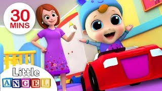 Download Yes, Yes It's Time For Bed | Bedtime Song | Nursery Rhymes by Little Angel Video