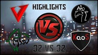 Download BF4 CLANWAR || MhSV & V vs Ao1 & KaoS | 32 vs 32 | HIGHLIGHTS Video