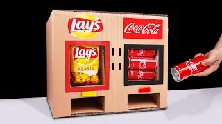 Download DIY How to Make LAY'S Chips and Coca Cola Vending Machine Video