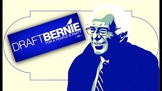 Download Progressives Delivering 'Draft Bernie' Petition to Sanders Himself Video