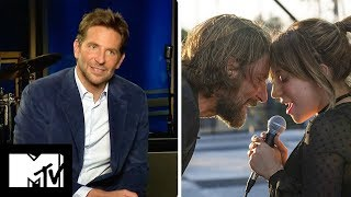 Download Bradley Cooper Talks About Shallow & His Sex Scenes With Lady Gaga | A Star Is Born | MTV Movies Video