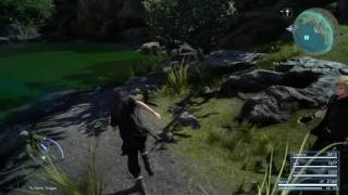 Download FINAL FANTASY XV - Finding Yellow Frogs (Sidequest) Video